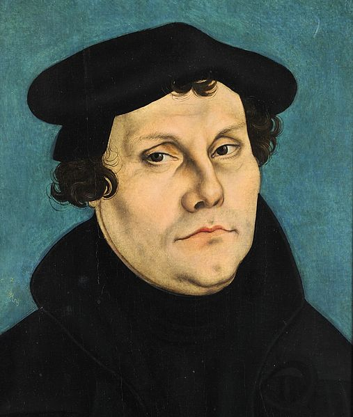 Martin Luther was a professor of theology, having his doctorate in theology. I have no idea what I would call him. This was painted by Lucas Cranach the Elder.