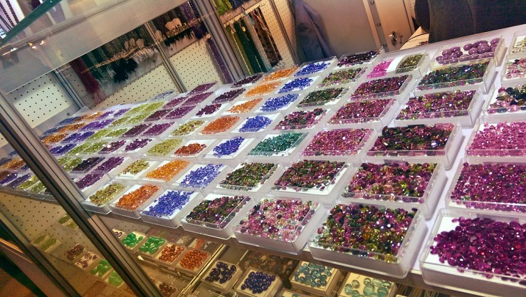 Just one of the many loose stone displays. I resisted running my fingers through them more than once.